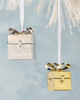 Neiman Marcus Gift Box Christmas Ornament