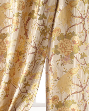 Sweet Dreams Fanciful Pheasant Curtains
