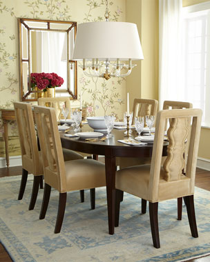 Haute House Anderson Dining Chair & Allerton Dining Table