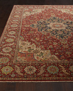 Exquisite Rugs Royal Garden Serapi Rug