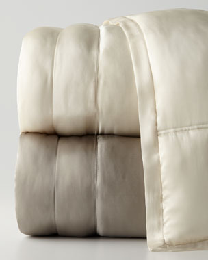 Donna Karan Home Reflection Silk Quilt & Shams