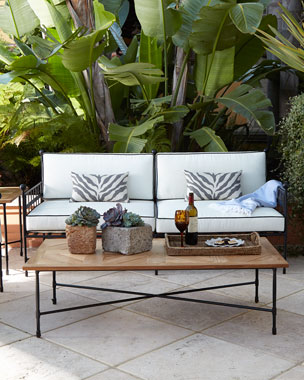 Avery Neoclassical Outdoor Furniture