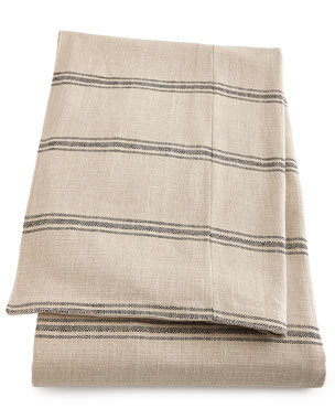 French Laundry Home Ticking-Stripe Coverlet