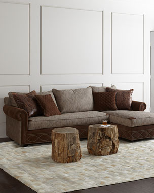 Old Hickory Tannery Witten Chaise Sectional
