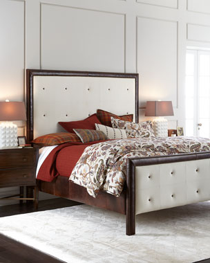 Old Hickory Tannery Garth Tufted Beds
