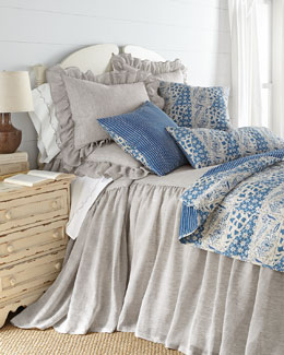 Savannah Bedding & Cana Blue Accessories