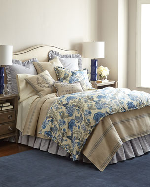 French Laundry Home Iris Floral Bedding