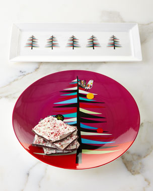 Creative Home Trees Hostess Tray & Cookie Plate