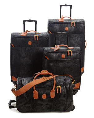BRICS My Safari Black Luggage