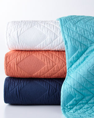 Blissliving HOME Luisa Quilted Coverlet