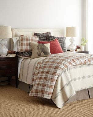 French Laundry Home Kent Wood Bedding