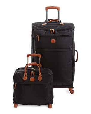 BRICS Black X-Bag Spinner & Rolling Pilot Case