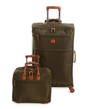 BRICS Olive X-Bag Spinner & Rolling Pilot Case
