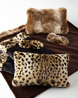 Faux-Fur 3-Piece Travel Sets