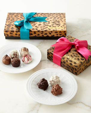 NM EXCLUSIVE Gift-Wrapped Chocolate Truffles & Fudge Love