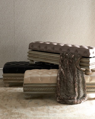 Massoud Delmonico Storage Bench