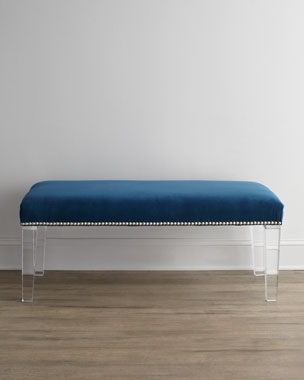 Massoud Water's Edge Bench