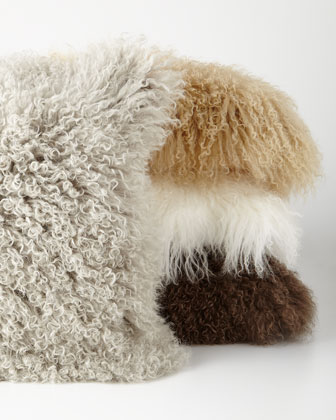 Flokati Wool Pillows