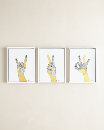 Sign Language IV Giclee and Matching Items