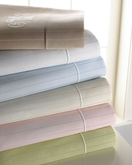 SFERRA Striped Sheets by Sferra
