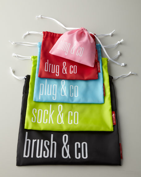 Five Travel Bag Organizers
