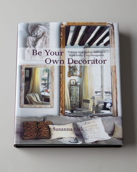 """Be Your Own Decorator"" Hardcover Book"