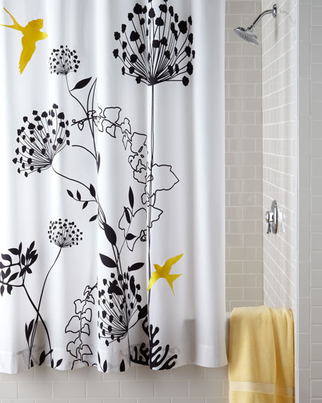 """Anise"" Shower Curtain"