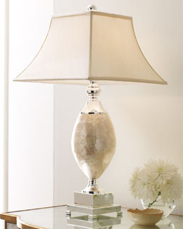 Rochelle Mother-of-Pearl Lamp
