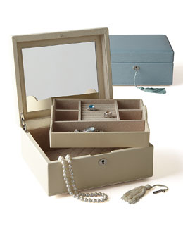 "Wolf Designs ""London"" Square Jewelry Case"