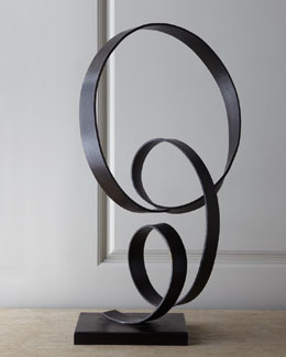 John-Richard Collection Forged Iron Sculpture