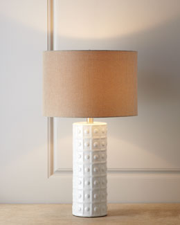 White Ceramic Lamp