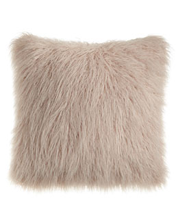 Khan Faux-Fur Pillow