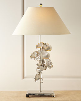 Gingko Leaves Buffet Lamp