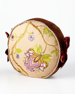 MacKenzie-Childs Bittersweet Round Pillow