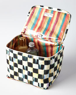 Courtly Check Train Case