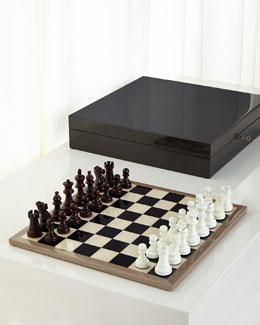 Roger Carbon Fiber Chess Set