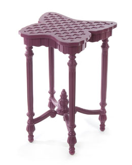 MacKenzie-Childs Sunset Plum Outdoor Butterfly Table