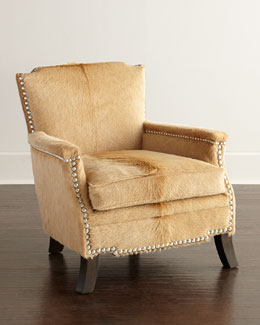 Emmit Hairhide Chair