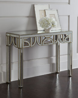 Felty Mirrored Console