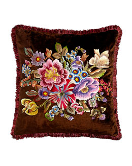 Dutch Floral Pillow, 20