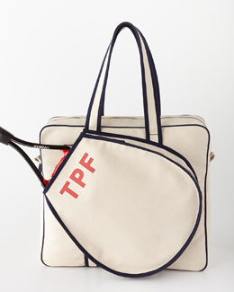 Tennis Bag - Steamer Initial