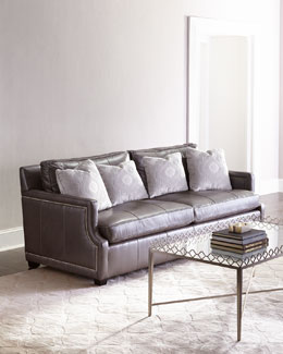 Mirabelle Leather Sofa
