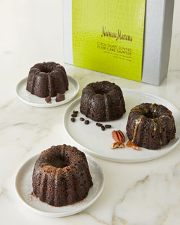 NM EXCLUSIVE Chocolate Lover's Four-Cake Sampler