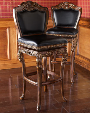 Hillsdale Furniture Drama Scroll Stools