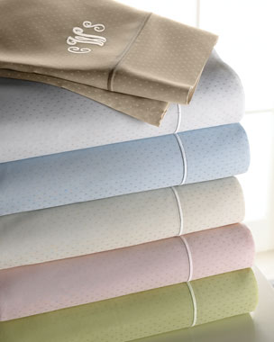 SFERRA Marcus Collection 400TC Dot Sheets