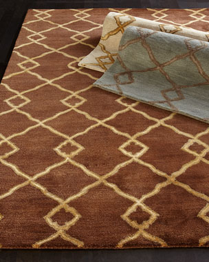 Crossing Diamond Rug
