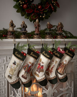 Personalized Santa Claus Stockings
