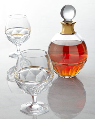 Waterford Elysian Brandy Glasses and Decanter