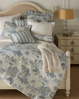 Terry Town Toile Bedding