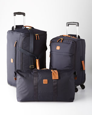 Bric's Navy Ultra-Light Luggage